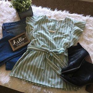 Adorable green blouse